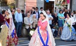 Ofrenda a Sant Vicent Ferrer, de los altares vicentinos al Patrón de la Comunitat Valenciana en Valencia (3)