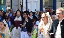 Ofrenda a Sant Vicent Ferrer, de los altares vicentinos al Patrón de la Comunitat Valenciana en Valencia (30)