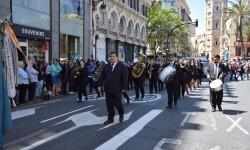 Ofrenda a Sant Vicent Ferrer, de los altares vicentinos al Patrón de la Comunitat Valenciana en Valencia (305)