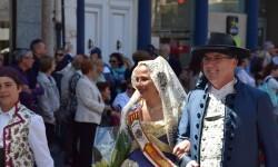 Ofrenda a Sant Vicent Ferrer, de los altares vicentinos al Patrón de la Comunitat Valenciana en Valencia (31)
