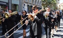 Ofrenda a Sant Vicent Ferrer, de los altares vicentinos al Patrón de la Comunitat Valenciana en Valencia (310)