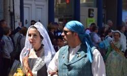 Ofrenda a Sant Vicent Ferrer, de los altares vicentinos al Patrón de la Comunitat Valenciana en Valencia (32)