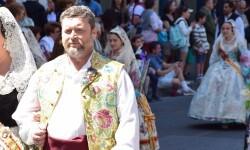 Ofrenda a Sant Vicent Ferrer, de los altares vicentinos al Patrón de la Comunitat Valenciana en Valencia (33)