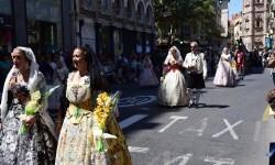 Ofrenda a Sant Vicent Ferrer, de los altares vicentinos al Patrón de la Comunitat Valenciana en Valencia (34)