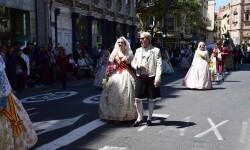 Ofrenda a Sant Vicent Ferrer, de los altares vicentinos al Patrón de la Comunitat Valenciana en Valencia (35)