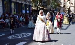 Ofrenda a Sant Vicent Ferrer, de los altares vicentinos al Patrón de la Comunitat Valenciana en Valencia (36)