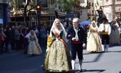 Ofrenda a Sant Vicent Ferrer, de los altares vicentinos al Patrón de la Comunitat Valenciana en Valencia (37)