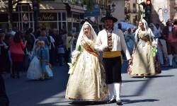 Ofrenda a Sant Vicent Ferrer, de los altares vicentinos al Patrón de la Comunitat Valenciana en Valencia (38)