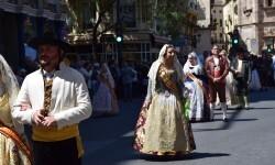 Ofrenda a Sant Vicent Ferrer, de los altares vicentinos al Patrón de la Comunitat Valenciana en Valencia (39)