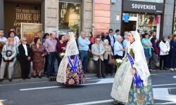 Ofrenda a Sant Vicent Ferrer, de los altares vicentinos al Patrón de la Comunitat Valenciana en Valencia (4)