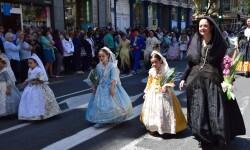 Ofrenda a Sant Vicent Ferrer, de los altares vicentinos al Patrón de la Comunitat Valenciana en Valencia (42)