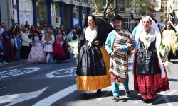 Ofrenda a Sant Vicent Ferrer, de los altares vicentinos al Patrón de la Comunitat Valenciana en Valencia (43)
