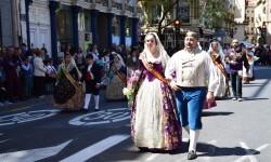 Ofrenda a Sant Vicent Ferrer, de los altares vicentinos al Patrón de la Comunitat Valenciana en Valencia (44)
