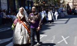 Ofrenda a Sant Vicent Ferrer, de los altares vicentinos al Patrón de la Comunitat Valenciana en Valencia (45)