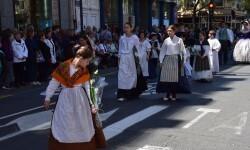 Ofrenda a Sant Vicent Ferrer, de los altares vicentinos al Patrón de la Comunitat Valenciana en Valencia (46)