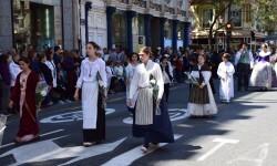Ofrenda a Sant Vicent Ferrer, de los altares vicentinos al Patrón de la Comunitat Valenciana en Valencia (47)