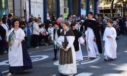 Ofrenda a Sant Vicent Ferrer, de los altares vicentinos al Patrón de la Comunitat Valenciana en Valencia (48)