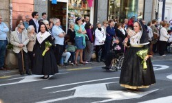 Ofrenda a Sant Vicent Ferrer, de los altares vicentinos al Patrón de la Comunitat Valenciana en Valencia (5)