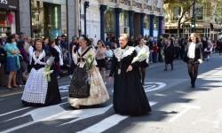 Ofrenda a Sant Vicent Ferrer, de los altares vicentinos al Patrón de la Comunitat Valenciana en Valencia (50)