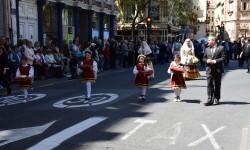 Ofrenda a Sant Vicent Ferrer, de los altares vicentinos al Patrón de la Comunitat Valenciana en Valencia (52)