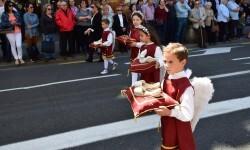Ofrenda a Sant Vicent Ferrer, de los altares vicentinos al Patrón de la Comunitat Valenciana en Valencia (53)