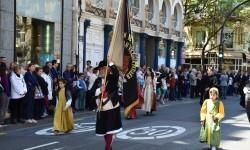 Ofrenda a Sant Vicent Ferrer, de los altares vicentinos al Patrón de la Comunitat Valenciana en Valencia (55)