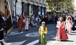 Ofrenda a Sant Vicent Ferrer, de los altares vicentinos al Patrón de la Comunitat Valenciana en Valencia (56)