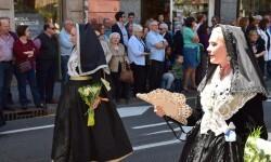 Ofrenda a Sant Vicent Ferrer, de los altares vicentinos al Patrón de la Comunitat Valenciana en Valencia (6)