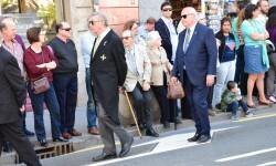 Ofrenda a Sant Vicent Ferrer, de los altares vicentinos al Patrón de la Comunitat Valenciana en Valencia (67)