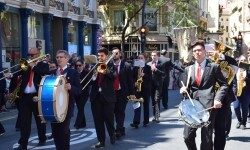Ofrenda a Sant Vicent Ferrer, de los altares vicentinos al Patrón de la Comunitat Valenciana en Valencia (68)