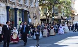 Ofrenda a Sant Vicent Ferrer, de los altares vicentinos al Patrón de la Comunitat Valenciana en Valencia (69)