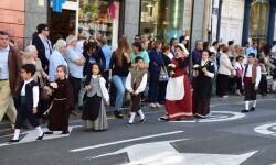 Ofrenda a Sant Vicent Ferrer, de los altares vicentinos al Patrón de la Comunitat Valenciana en Valencia (75)