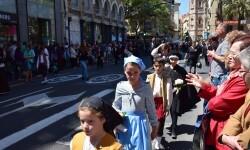 Ofrenda a Sant Vicent Ferrer, de los altares vicentinos al Patrón de la Comunitat Valenciana en Valencia (77)