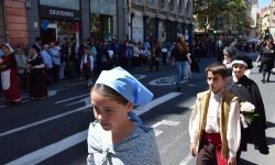 Ofrenda a Sant Vicent Ferrer, de los altares vicentinos al Patrón de la Comunitat Valenciana en Valencia (78)
