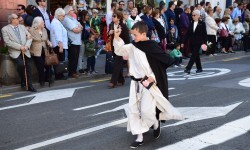 Ofrenda a Sant Vicent Ferrer, de los altares vicentinos al Patrón de la Comunitat Valenciana en Valencia (79)