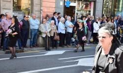 Ofrenda a Sant Vicent Ferrer, de los altares vicentinos al Patrón de la Comunitat Valenciana en Valencia (8)