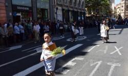 Ofrenda a Sant Vicent Ferrer, de los altares vicentinos al Patrón de la Comunitat Valenciana en Valencia (85)