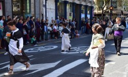 Ofrenda a Sant Vicent Ferrer, de los altares vicentinos al Patrón de la Comunitat Valenciana en Valencia (86)