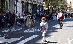Ofrenda a Sant Vicent Ferrer, de los altares vicentinos al Patrón de la Comunitat Valenciana en Valencia (90)