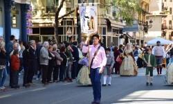 Ofrenda a Sant Vicent Ferrer, de los altares vicentinos al Patrón de la Comunitat Valenciana en Valencia (97)