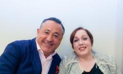 Pablo Castelblanque y Gloria Hernández