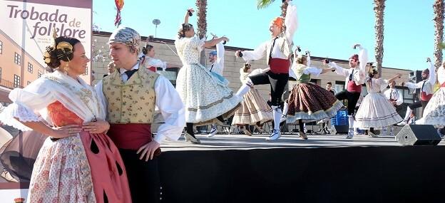 Para la Trobada de Folclore de la Diputación de Valencia se han programado exhibiciones y talleres didácticos sobre folklore valenciano.