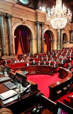 Parlament de Catalunya.