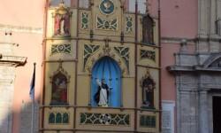 Pila Bautismal San Vicente Ferrer Representación en el Altar de la Plaza de la Virgen del Milacre (13)