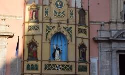 Pila Bautismal San Vicente Ferrer Representación en el Altar de la Plaza de la Virgen del Milacre (14)