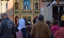 Pila Bautismal San Vicente Ferrer Representación en el Altar de la Plaza de la Virgen del Milacre (19)