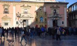 Pila Bautismal San Vicente Ferrer Representación en el Altar de la Plaza de la Virgen del Milacre (3)