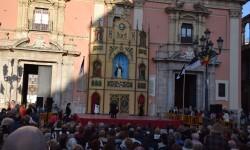 Pila Bautismal San Vicente Ferrer Representación en el Altar de la Plaza de la Virgen del Milacre (5)