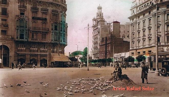 Plaza de Emilio Castelar. Años 30