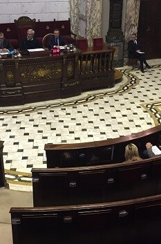Pleno celebrado ayer. (Pleno municipal).
